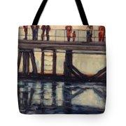 Wharf Reflections@ Halifax N. S. Tote Bag