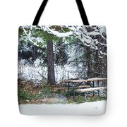 What A Day For A Picnic Tote Bag
