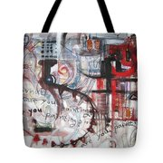 What Are You Painting-red And Brown Painting Tote Bag
