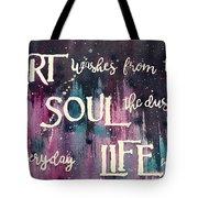 What Art Does Tote Bag by Diane Fujimoto