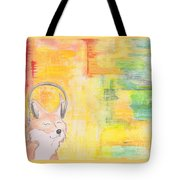 What Does The Fox Hear? Tote Bag