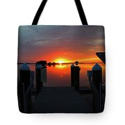 What Is Left Behind Tote Bag