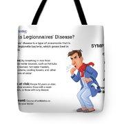 What Is Legionnaires' Disease? Tote Bag