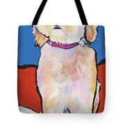 What No Diamonds Tote Bag by Pat Saunders-White