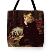 What Shall I Read Tote Bag by Florence Marlowe