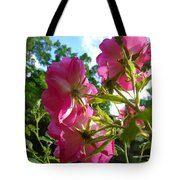 What The Roses See Tote Bag