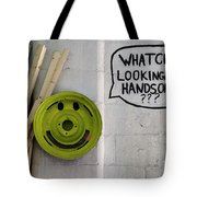 Whatchu Looking At Handsome Tote Bag