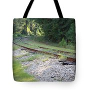 Whats Around The Bend Tote Bag