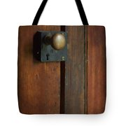 What's Behind The Door Tote Bag