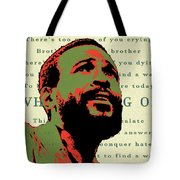 Whats Going On Tote Bag