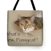What's New Pussycat - Lily The Cat Tote Bag