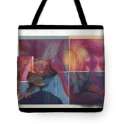 What's On The Artists Mind II Tote Bag