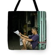 What's The News Tote Bag
