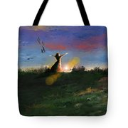 What's The Story Morning Glory Tote Bag
