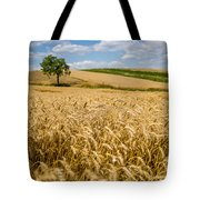 Wheat And A Tree Tote Bag