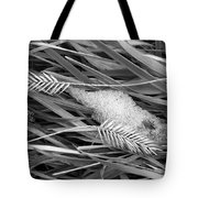 Wheat And Ice Tote Bag