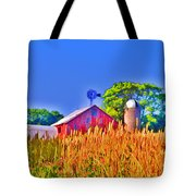Wheat Farm Near Gettysburg Tote Bag