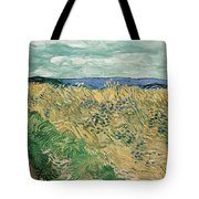 Wheat Field With Cornflowers At Wheat Fields Van Gogh Series, By Vincent Van Gogh Tote Bag
