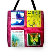 Wheat-shire Super Heros Cd Animation Demo Tote Bag
