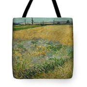 Wheatfield Arles, June 1888 Vincent Van Gogh 1853 - 1890 Tote Bag