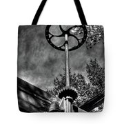 Wheel And Gear Tote Bag