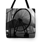 Wheel Art Tote Bag