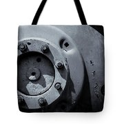 Wheel Bolts In Metal Tote Bag