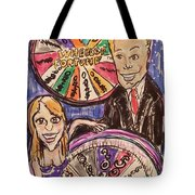 Wheel Of Fortune Pat Sajak And Vanna White Tote Bag