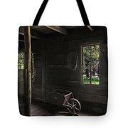Wheelbarrow In The Light Tote Bag