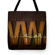 Wheelers Weekend Jams-live And Direct Tote Bag