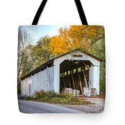 Wheeling Covered Bridge Tote Bag