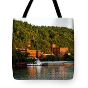 Wheeling Island Tote Bag