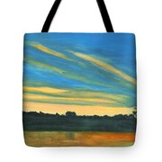 Wheeling Waterfront Tote Bag