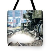 Wheels And Gears Engine 26 Tote Bag