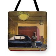 Wheels In The City Tote Bag