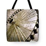 Wheels In The Wind Tote Bag
