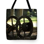 Wheels Of War-spanish American War Artifacts Tote Bag