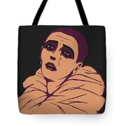 Weeping Pierrot Tote Bag