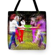 When Alternate Realities Collide Tote Bag