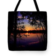 When Darkness Comes Tote Bag