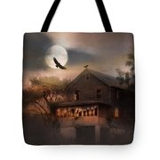 When Dead Leaves Fly Tote Bag