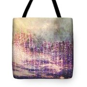 When Earth And Sky Collide Tote Bag