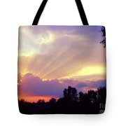 When Evening Comes Tote Bag