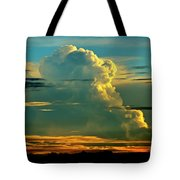When It Rains In Africa Tote Bag