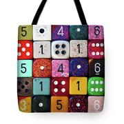 When Life Gets Dicey Tote Bag