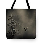 When Once A Bee Flew Tote Bag