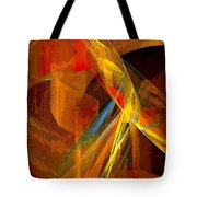When Paths Cross Tote Bag