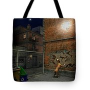 When Stars Fall In The City Tote Bag