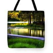 When Summer Glows And Crickets Chirp  Tote Bag