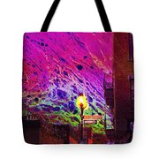 When Sun Sets Tote Bag